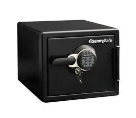 Sentry 耐火・耐水金庫(1時間耐火) テンキー式 鍵2本付き ブラック JFW082GUL