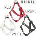 【BIRDIE(バーディ)小型犬・猫用胴輪】本革製ジェントルレザーハーネス sizeSS