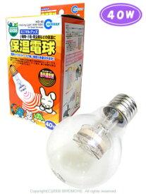 マルカン / 保温電球 40W / 9991561 ( BIRDMORE バードモア 鳥用品 鳥グッズ 鳥 とり トリ 保温 温度 管理 あったかい )