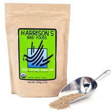ハリソン / アダルトライフタイム スーパーファイン 極小粒 454g / 9996005 Harrison ( BIRDMORE バードモア 鳥 とり トリ ペット 餌 えさ エサ ハリソン ペレット フード ごはん インコ オウム )