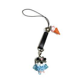 OKAMEN75 / ★ジーンズストラップ / ボタン(ブルー) / 173A0220 ( BIRDMORE バードモア CRAFT GARDEN 鳥用品 鳥グッズ 鳥 とり プレゼント )
