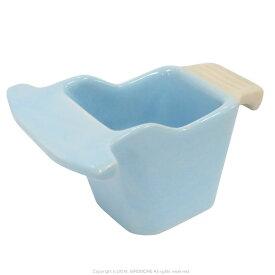 クオリス / Pottery 陶器の食器 HOEI 101サイズ・ブルー / 9996978 ( BIRDMORE バードモア 鳥用品 鳥グッズ 鳥 とり 餌入れ えさいれ エサイレ 水入れ プレゼント )