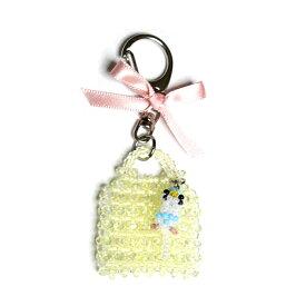 OKAMEN75 / バッグ型チャーム/セキセイ(ハルクイン) / 173A0301 ( BIRDMORE バードモア 鳥用品 鳥グッズ 雑貨 鳥 とり トリ プレゼント)