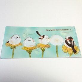 とっ・とっ・pi♪ / たんぽぽ シマエナガ チケット ホルダー / シマエナガ / 197A0222 ネコポス 対応可能 ( BIRDMORE バードモア CRAFT GARDEN 鳥用品 鳥グッズ 雑貨 鳥 とり プレゼント )