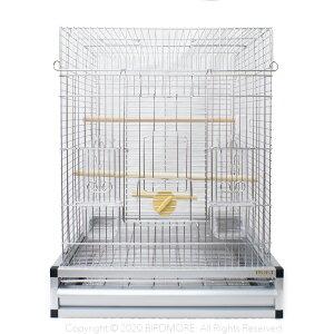 HOEI / 465 オカメ ステンレス プレミアム / 9997778 ( BIRDMORE バードモア 鳥用品 鳥グッズ 鳥 とり トリ インコ ケージ 鳥かご )