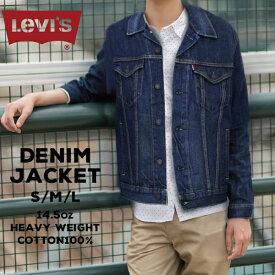 リーバイス メンズ デニム アウター LEVIS 72334-01L42 トラッカー ジャケット | ジャケット デニムジャケット Gジャン 青 アメカジ ブランド トップス 生地 綿100% ヘビーウェイト ジージャン 大きいサイズ 無地 かっこいい おしゃれ levi's LEVI'S Levi's levis gジャン