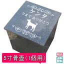 【送料無料】 納骨カロート(5寸骨壺用) 【ペットのお墓/自宅供養/彫刻付き】