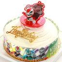 ボンブ(ドーム型)ケーキ/騎士竜戦隊リュウソウジャー2019・キャラデコ ケーキ5号/バースデーオーナメントとキャンドル…