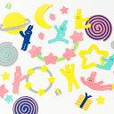 パーティーガーランドキット うさぎ【パーティー装飾】パーティー お誕生日のお祝い パーティー飾り付け プチプラ