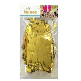 パーティーフリンジ グリッター ゴールド 幅100x高さ200 お誕生日 誕生日 パーティー ホームパーティー ホイールカーテン パーティー装飾