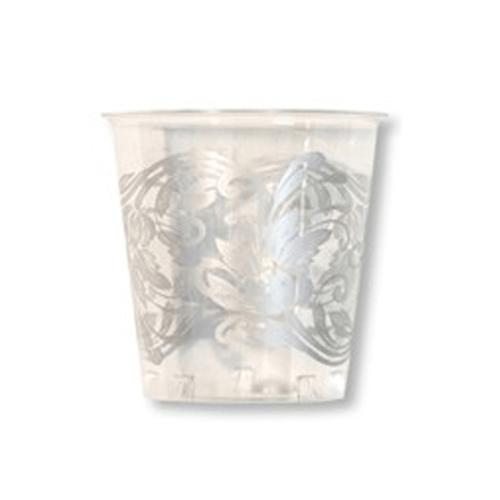プラスチックカップ 300cc クリスタルシルバー 10個入 【コップ・カップ・グラス】【プラスチック プラカップ バースデー お誕生日会 パーティー ホームパーティー アウトドア ピクニック おしゃピク グランピング】