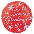 クリスマスバルーンシーズングリーティングスパークルプリズム15L【風船のみ】【アルミバルーン】