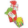 クリスマスバルーンカラフルクリスマスプレゼント43L【風船のみ】【アルミバルーン】