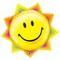 おひさまのバルーンサンシャインスマイルフェイス87cm43.6L【バルーン・風船】【風船のみ】お誕生日のお祝いHAPPYBIRTHDAYバルーン自宅で記念撮影おうちスタジオバースデイパーティーデコレーション太陽