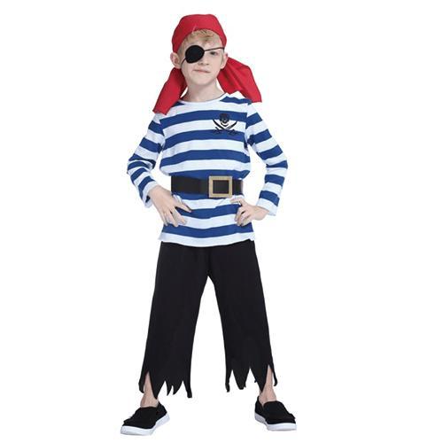 【ハロウィン コスプレ 子供 海賊】スライパイレーツ (100cm) ハロウィン 衣装 コスチューム 子供 男の子 コスプレ 子供用 ハロウィーン仮装 子ども用 キッズ 子供用 こども キッズ 衣装 仮装 変装 コスプレ衣装