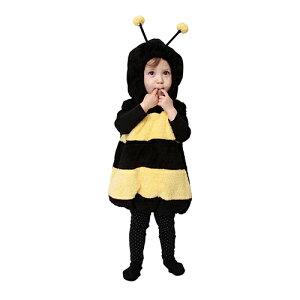 【ハロウィン 衣装 ベビー】マシュマロハッチ Baby みつばち ハチ ミツバチ ハロウィーン 子供 仮装 キッズ ベビー 女の子 カバーオール もこもこ ふわもこ コスチューム コスプレ なりきり