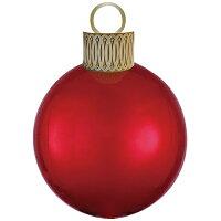 オーブスクリスマスオーナメントキットレッド35L【風船のみ】【アルミバルーン】