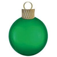 オーブスクリスマスオーナメントキットグリーン35L【風船のみ】【アルミバルーン】