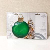 オーブスクリスマスオーナメントキットグリーン35L【風船のみ】【アルミバルーン】クリスマスクリスマス飾り付けクリスマスパーティー店舗装飾