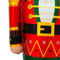 くるみ割り人形ナッツクラッカー60cm×154cmAirLoons【風船のみ】【アルミバルーン・アルミ風船】クリスマスXmasバルーンホームパーティーChristmasパーティーデコレーション置型バルーンディスプレイ