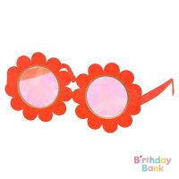 【MeriMeri】フラワーウェアラブルメガネお花のペーパーメガネ12枚入り