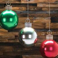 オーブスクリスマスオーナメントキットシルバー35L【風船のみ】【アルミバルーン】クリスマスクリスマス飾り付けクリスマスパーティー店舗装飾