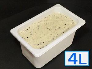 「ジェラートジェラート」業務用・大容量アイスクリーム・チョコミント味 4L(4リットル)