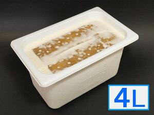 「ジェラートジェラート」業務用・大容量アイスクリーム・レアチーズケーキ味 4L(4リットル)