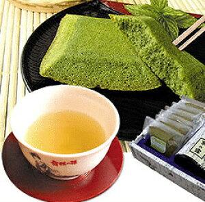 京都『舞妓の茶本舗』抹茶フィナンシェ5個とお茶の詰合せB[送料無料]