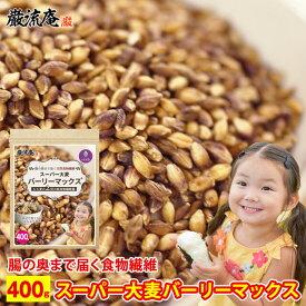 スーパー大麦 バーリーマックス 400g 食物繊維 レジスタントスターチ ハイレジ 大麦 もち麦 玄麦 腸活 雑穀 はと麦 オーツ麦 玄米 よりおすすめ 糖質カット 糖質オフ 糖質制限 ダイエット 送料無料