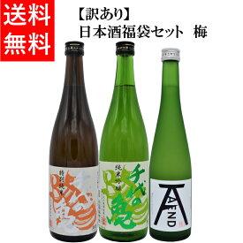 訳あり 日本酒福袋セット 梅