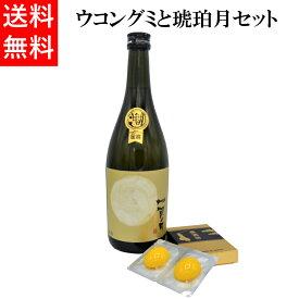 日本酒 ウコングミと琥珀月セット