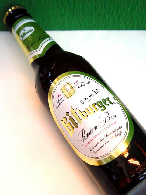 ドイツビール【ビットブルガー・ピルス】330ml ピルスナータイプ