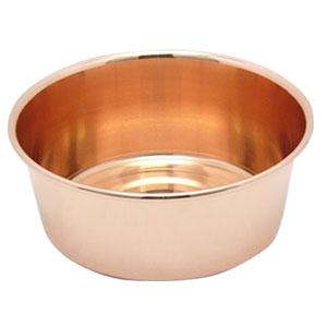純銅製湯桶  洗い桶兼用 32cm 【HLS_DU】