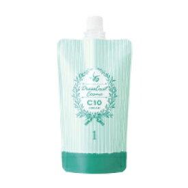 フォードヘア化粧品 ドレスコートコスメ クリーム C10 (パーマ 1剤 400g) (業務用)(ストレート)