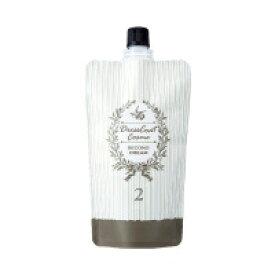 フォードヘア化粧品 ドレスコートコスメ クリーム セカンドクリーム (パーマ 2剤 400g) (業務用)(ストレート)