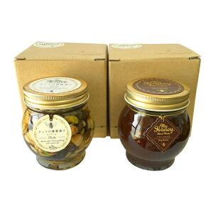 マイハニー ナッツの蜂蜜漬け エトワール 200g + ハニーショコラ 200g セット 小箱付き(1個入り×2個)