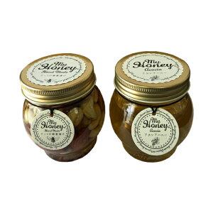 マイハニー ナッツの蜂蜜漬け 200g + アカシアハニー 200g セット