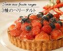 クリスマスケーキ 3種のベリータルト フルーツタルト