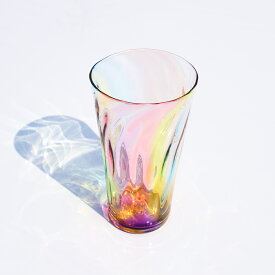 glasscalico グラスキャリコ ハンドメイド ガラス酒器 プリズム ロンググラス ウイスキー 焼酎 ビール グラス タンブラー おしゃれ ギフト プレゼント