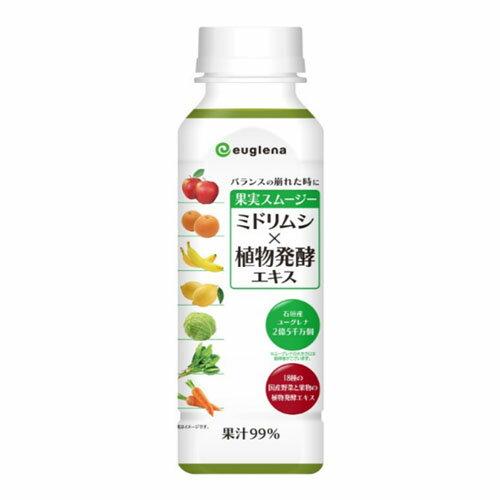 ユーグレナ 果実スムージー ミドリムシ×植物発酵エキス 280g(24本)