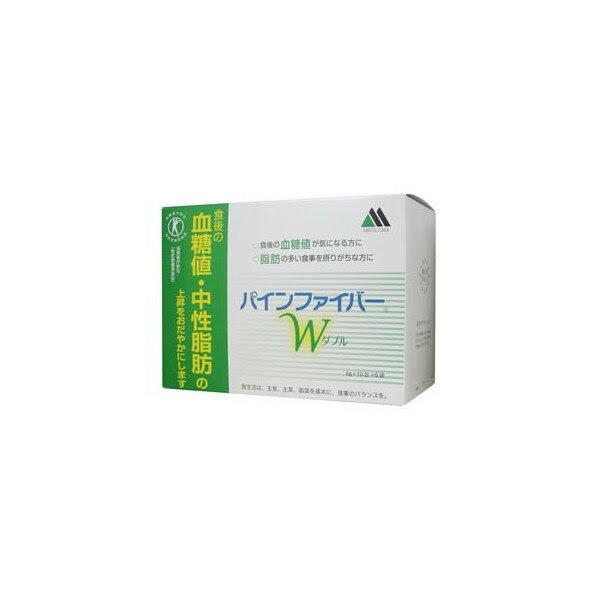 『パインファイバーW(PINEFIBER W)』食物繊維(難消化性デキストリン)の働きで、糖分や脂肪の吸収を抑え、食生活の改善に役立ちます!