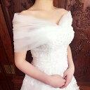 ウェディング ショール【通常・ロングサイズ】wedding shawl【レースショール】ウェディングボレロ/ウエディングスト…