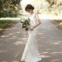 ウエディング ドレス ウェディングドレス ノースリーブ 床付きタイプ wedding dress レディースドレス マーメイドライ…