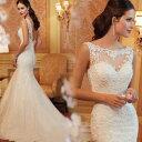 オーダーメイドも可能 ウェディングドレス マーメイドライン ロングドレス ウェディングドレス ウエディングドレス …