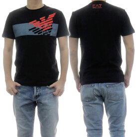 EMPORIO ARMANI エンポリオアルマーニ EA7 メンズクルーネックTシャツ 3HPT49 PJQ9Z ブラック