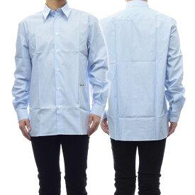 GIVENCHY ジバンシー メンズポプリンシャツ BM607Q1Y5G ブルー