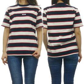 (エムエスジーエム)MSGM レディースクルーネックTシャツ 2641MDM88A 195293 ホワイト