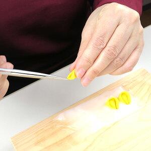 つまみ細工用一越ちりめん黄緑系無地6色カットちりめんセット|ちりめん細工初心者材料つまみ細工布裁断つまみ細工道具手作り手芸