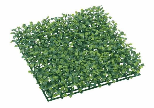 人工芝 ボックスウッドガーデンマット (造花 人工 草 芝マット 屋外使用OK グリーン 情景)
